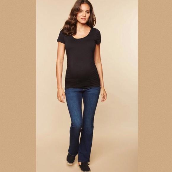 Indigo Blue Denim - Indigo Blue Maternity Dark Blue Jeans in Large